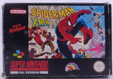 Spider-Man And The X-Men In Arcade's Revenge - SNES