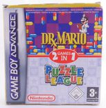 Dr. Mario & Puzzle League - GBA