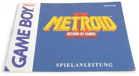 Metroid II: Return Of Samus (Manual)