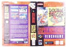 Double Dragon V: The Shadow Falls (Original Rental Cover Paper)