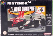 F-1 World Grand Prix II - N64