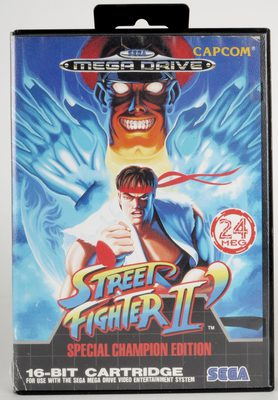 Street Fighter II: Special Champion Edition - Mega Drive