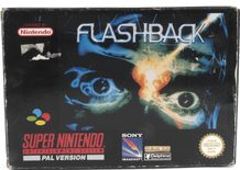 EMPTY BOX - Flashback (manual + box, no game!)