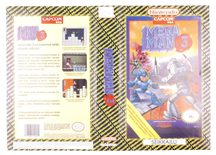 Mega Man 3 (Original YAPON Rental Cover Paper)