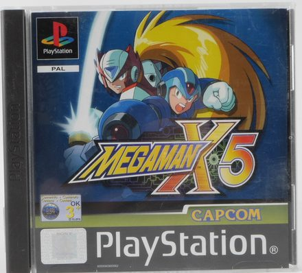 Mega Man X5 - PS1