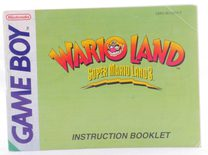 Wario Land: Super Mario Land 3 (Manual)