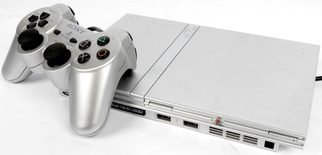 Playstation 2 Console Slim Model (PS2) Silver