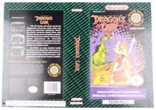 Dragon's Lair (Orginal YAPON Rental Cover Paper)
