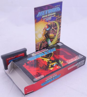 Metroid: Zero Mission (NTSC-J) - GBA