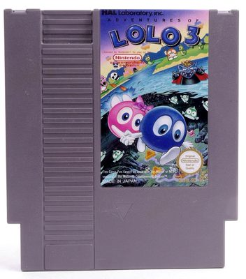 Adventures of Lolo 3 - NES