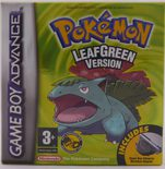 Pokemon LeafGreen Version - GBA