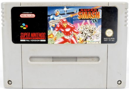 Super Smash TV - SNES