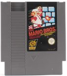 Super Mario Bros. (Fire Mario Label) - NES