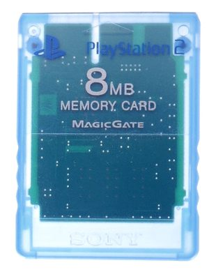Playstation 2 Memory Card (Blue)