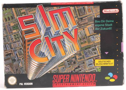 Sim City (German Version) - SNES