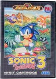 Sonic The Hedgehog 3 (PAL-Asia Release) - Mega Drive