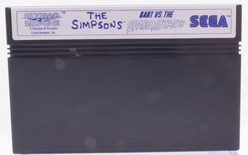 The Simpsons: Bart VS. The Space Mutants - Master System
