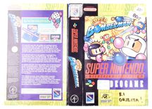 Super Bomberman (Original Rental Cover Paper)