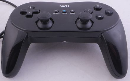 3rd Party Classic Controller Pro (Black)