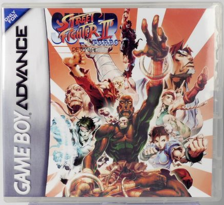 Super Street Fighter II Turbo Revival (Custom Case) - GBA
