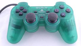 Playstation 1 Controller Dualshock (Clear Green)