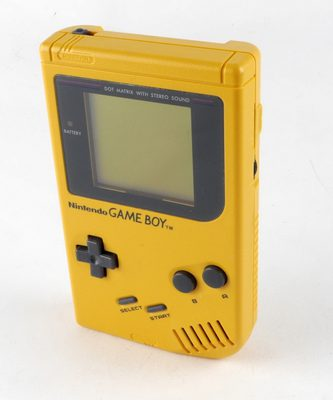 Game Boy Console Yellow (DMG-01)