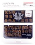 New Nintendo 3DS Cover Plates Monster Hunter 4 Ultimate Black