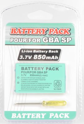 Battery Pack for Game Boy Advance SP