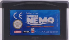 Finding Nemo: The Continuing Adventures - GBA