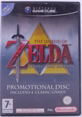 EMPTY BOX - The Legend Of Zelda Collector's Edition (box only, no game or manual!)