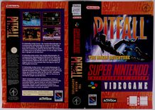 Pitfall (Original Rental Cover Paper)