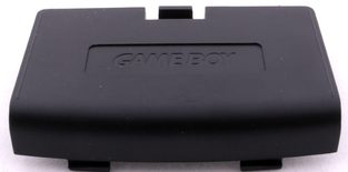 Game Boy Advance Battery Cover (Black)