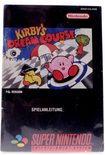 Kirby's Dream Course (Manual)