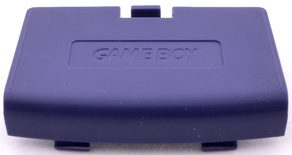 Game Boy Advance Battery Cover (Indigo Purple)