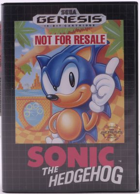 Sonic The Hedgehog (Not For Resale Version)