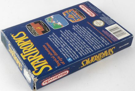 EMPTY BOX - StarTropics (box only, no game!)