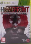 Homefront (Exclusive Resistance Multiplayer Pack Version) - Xbox 360