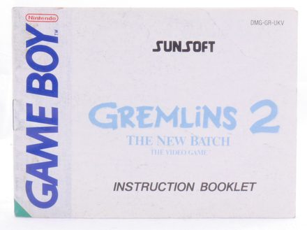 Gremlins 2: The New Batch (Manual)
