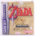 The Legend Of Zelda: A Link To The Past And Four Swords - GBA