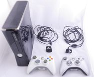 Xbox 360 Bundle (250GB Console, Two Rechargeable Controllers And The Simpsons Game)
