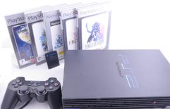 Playstation 2 Console Fat Model Square Enix Bundle