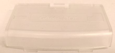 Game Boy Advance Battery Cover (Transparent)