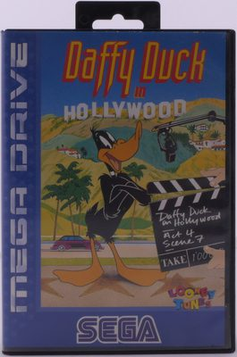 EMPTY BOX - Daffy Duck In Hollywood (Box Only, No Game!)