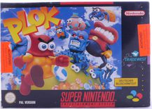 Plok (German Version) - SNES