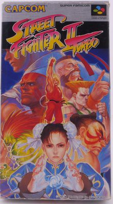 Street Fighter II Turbo (Super Famicom) - SNES