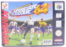 International Superstar Soccer 64 - N64