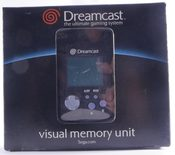Sega Dreamcast VMU Black (Visual Memory Unit)