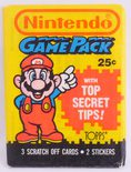 Topps Nintendo Game Pack (3 Scratch Off Cards, Mario Cover)