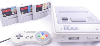 Super Nintendo Console It's a Me Mario Bundle