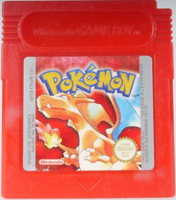 Pokemon Red Version - GB